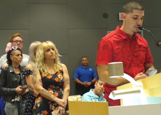 Eddie Rodriguez, a DJ on the Cape Coral nightlife scene, and several music enthusiasts urge the Cape city council to reject a beefed-up noise ordinance.