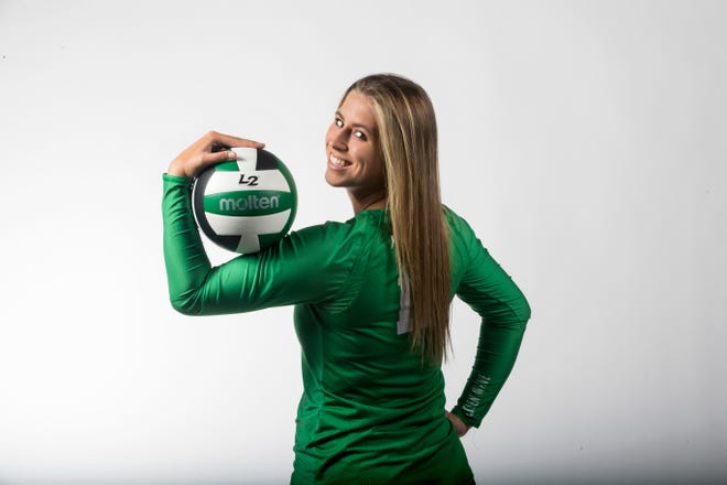 Paris Thompson, Fort Myers, Volleyball, All-Area Fall 2019