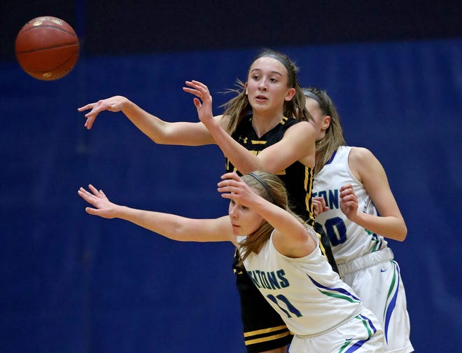 Green Bay Preble guard Carley Duffney was named the Press-Gazette's prep athlete of the week for Nov. 25-30.