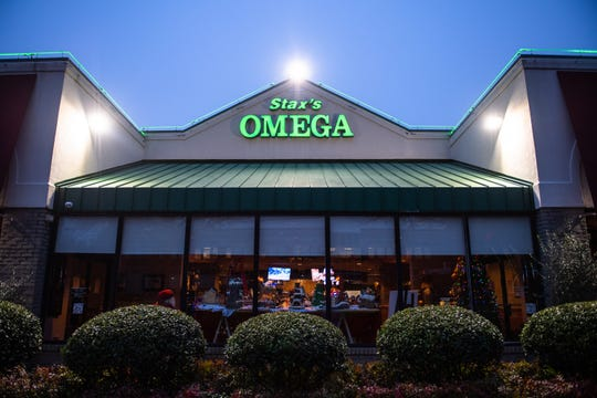 Stax Omega restaurant in Greenville.
