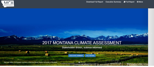 The Montana Climate Assessment was discussed at Monday's meeting of the Climate Solutions Council.
