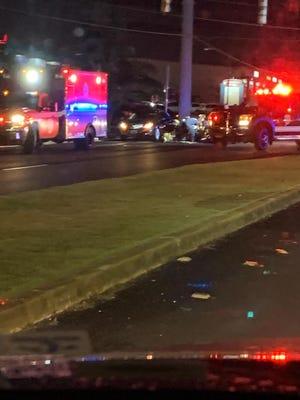 Auto pedestrian incident Tuesday, Dec. 10, 2019.