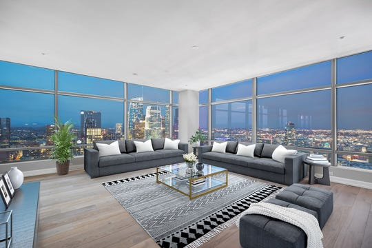 A look inside Zander Diamont's recent listing, a 44th floor penthouse in L.A.