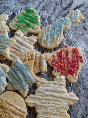 Cookies fit for binge watching Hallmark Channel holiday movies.