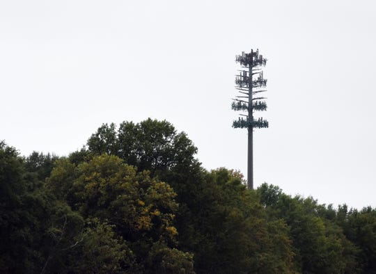 "This unusually tall ""pine tree"" looming south of Mississippi 463 in Madison is actually a cell tower in disguise."