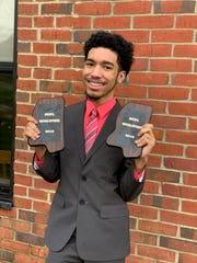 Jeffrey Caliedo, 17, of Jackson, Miss., a Murrah High School student, is an award-winning member of the school's speech and debate team.