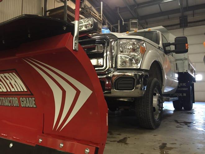 West Lafayette snow plow
