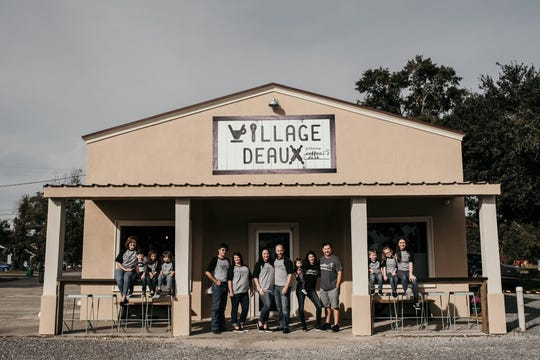 A year of business has taught Maurice's Village Deaux and Coffee Dash owners the secret to small town business is giving back to the community.