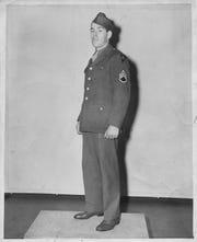 Raymond J. McDonogh, U.S. Army First Sergeant. By Bernie Metzroth, The Courier. Journal. March 9, 1943