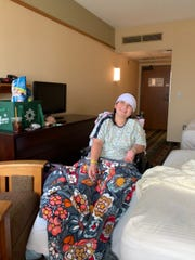 After Charlotte O'Donnell was injured in a crash in June she spent 61 days at Helen DeVos Children's Hospital and Mary Free Bed Rehabilitation Hospital in Grand Rapids.
