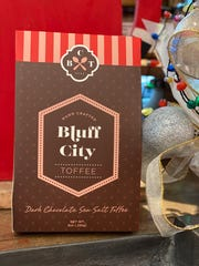 Bluff City Toffee is a Memphis-made sweet treat.