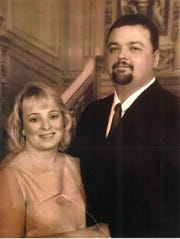 """An image of Edmond """"Eddie"""" Otis Studdard and his wife Angela Studdard. This picture was submitted by Angela Studdard to federal court records in a civil lawsuit over Edmond Studdard's fatal shooting by Shelby County Sheriff's Deputies."""