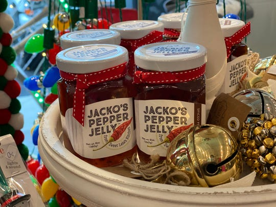 Jacko's Pepper Jelly is a sweet and spicy treat.
