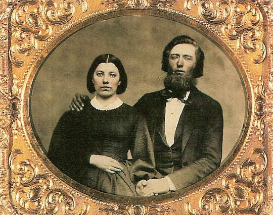 Caroline and Charles Ingalls, parents to author Laura Ingalls Wilder, met in Concord, Wis. Caroline's stepfather built the home there now owned by John and Beth Jennings.