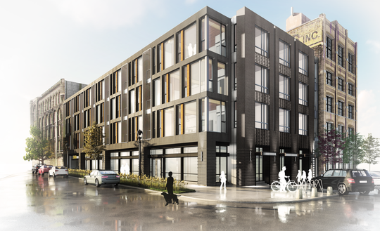 Timber Lofts, in Walker's Point, is Milwaukee's first mass timber building.