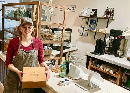 Simply Pure Sweets: After three years on Walnut Street, Chantell Kennedy-Shehan moved her bakery, Simply Pure Sweets, to 128 N. Church St. She'll continue to serve freshly baked pastries, cafe sandwiches and made-to-order coffee beverages.