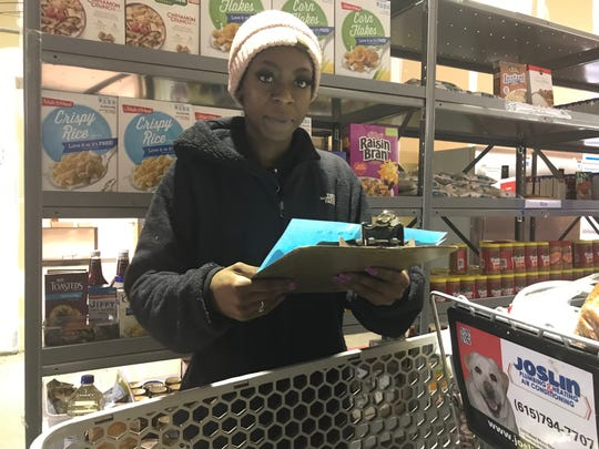 Mother Quanisha Anderson, 22, a Franklin native, will start Columbia State Community College in the spring. However, holidays bring a strain on finances, and she is relieved Graceworks can help.
