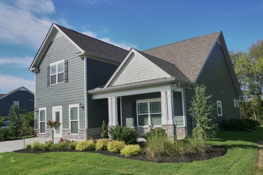 Homes built by Ole South in Shelton Square feature exteriors of brick or James Hardie Color Plus siding.