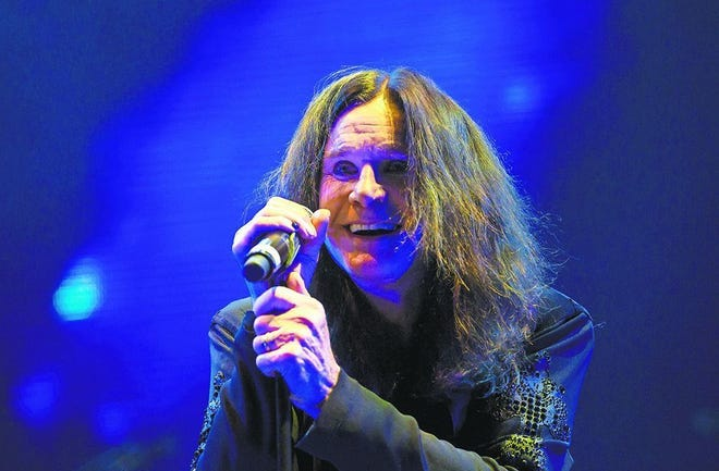 Ozzy Osbourne will perform in Sunrise, Florida, in May 2020.