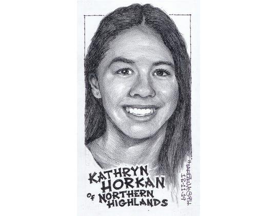 Kathryn Horkan, Northern Highlands swimming