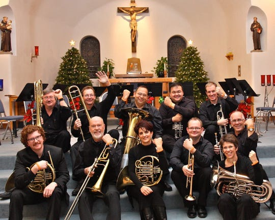 The Best Brass of Christmas group includes members from the Farmington, Santa Fe, Albuquerque, Denver and Phoenix areas.