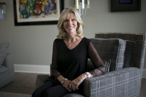 Carolyn Gable, the founder of the Believe Program, sits in her home in Scottsdale on Nov. 22, 2019.