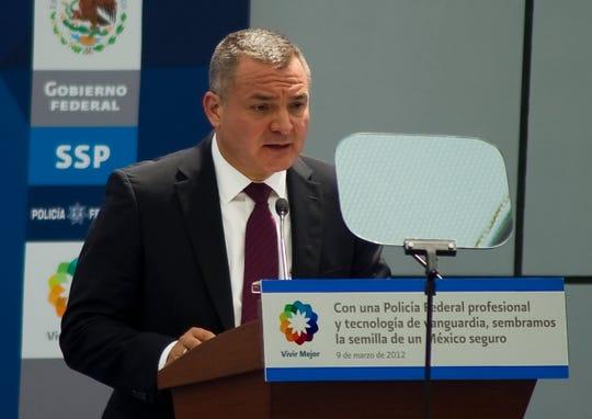 Genaro Garcia Luna, ex Secretario de Seguridad Pública de México.