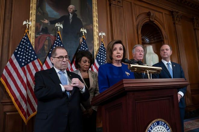 Demócratas acusan formalmente a Trump de abuso de poder y obstrucción a las labores del Congreso.