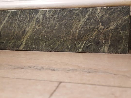 The Cardiff Marble was used as floor molding at City Hall in York.