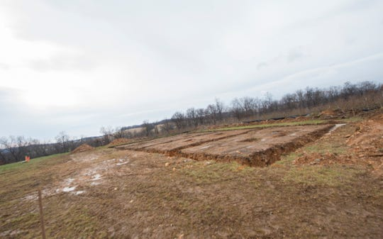 Brown's Orchard broke ground on its new wedding venue on Monday, Nov. 25, 2019. The venue which can hold up to 150 guests is expected to open in spring 2020.