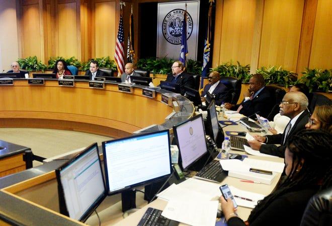 Shreveport City Council on Tuesday December 10, 2019.