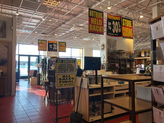 Discounts are posted inside the St. Cloud Pier 1 at 3701 W. Division St.