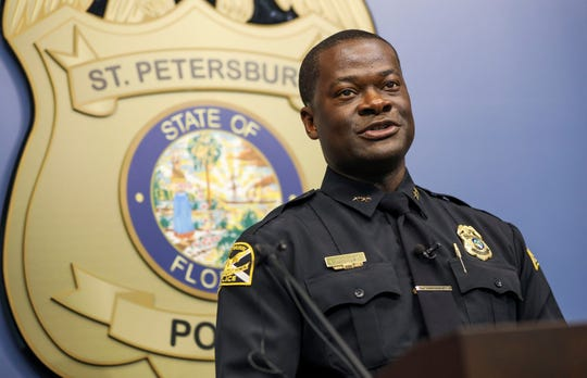 Tallahassee's new police chief, Antonio Gilliam, is pushing back against a claim that he has selected another of the top candidates to be his second-in-command.