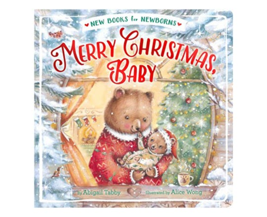 Merry Christmas, Baby by Abigail Tabby, illustrated by Alice Wong