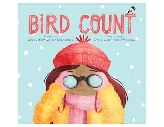 Bird Count by Susan Edwards Richmond, illustrated by Stephanie Fizer Coleman