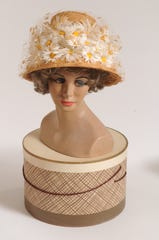 "A hat that belonged to the late Rose Harper of Scarsdale. Her nephews, Richard and Bob Vergara, sold their aunt's vintage hat collection to the Amazon series ""The Marvelous Mrs. Maisel."""
