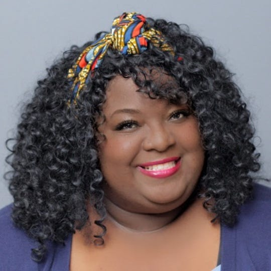 Nyemade Boiwu ofNewark recently wasthe emcee for the 2019 Ms. BBW Pageant at the Chase Center at the Riverfront.