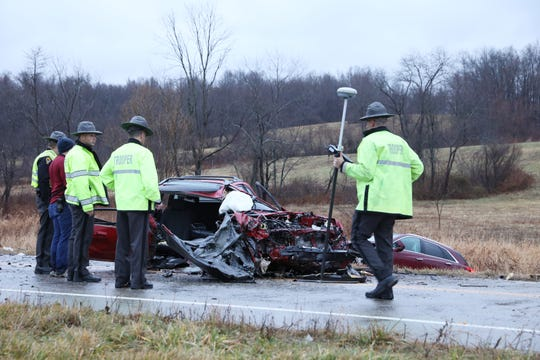 The Ohio State Highway Patrol is continuing its investigation into a fatal crash that occurred Monday on Northpointe Drive.