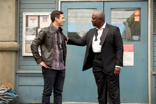 """Brooklyn Nine-Nine"" (Fox/NBC) with Andy Samberg and Andre Braugher"