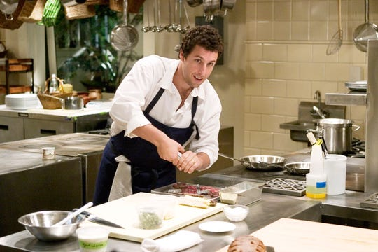"""Adam Sandler is a successful chef who falls for his housekeeper in """"Spanglish."""""""
