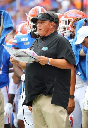 Florida defensive coordinator Todd Grantham is building depth.
