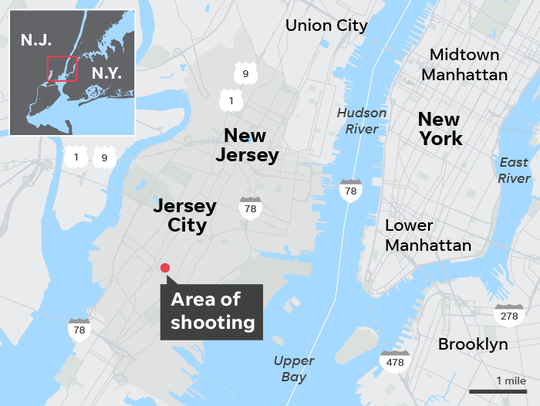 What we know about Jersey City shooting: Suspects tied to prior killing, motive unclear