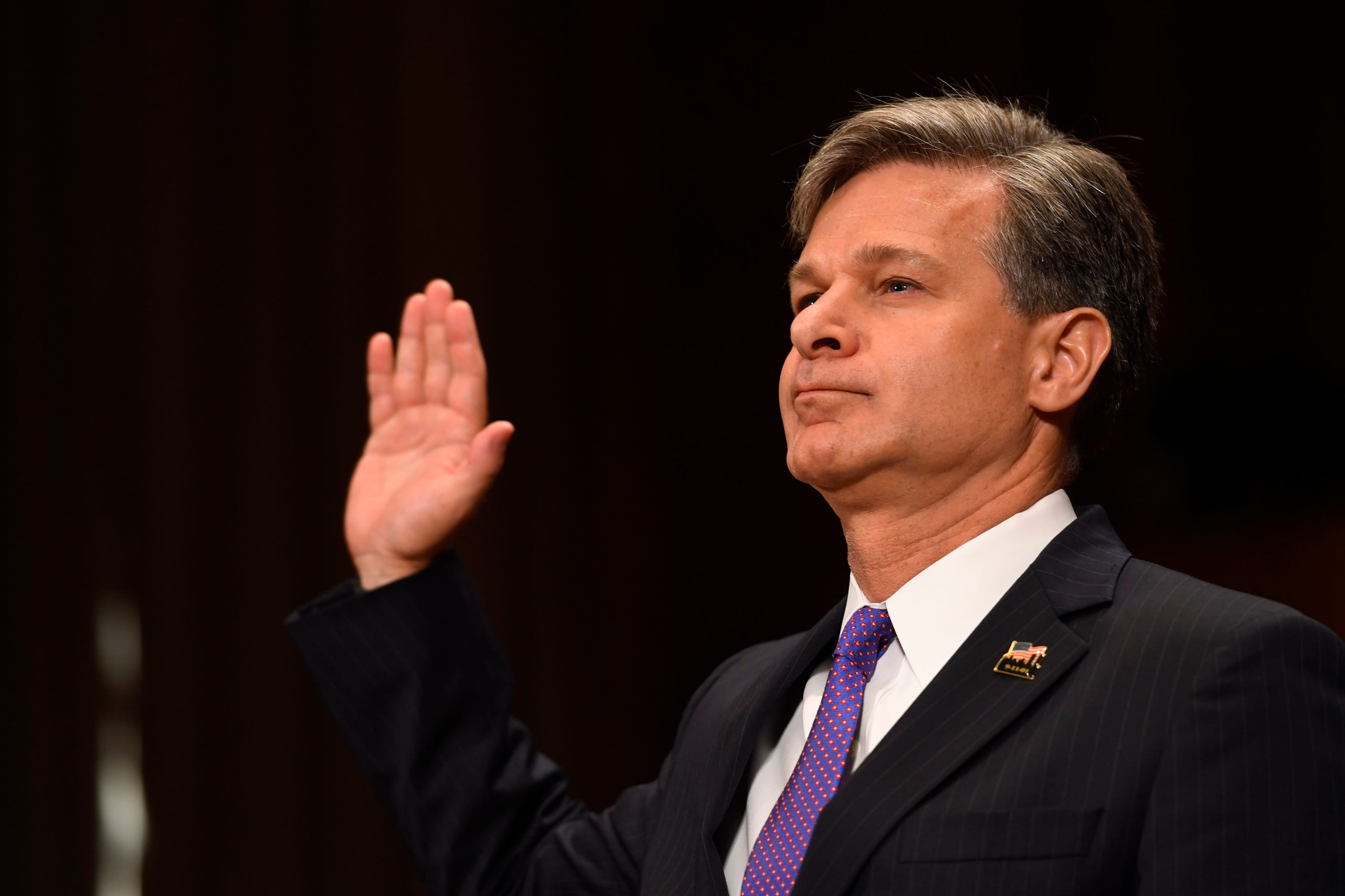 President Trump weighing firing of FBI Director Christopher Wray after election