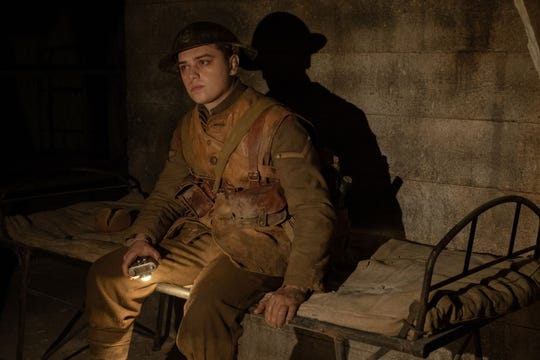 """Dean-Charles Chapman co-stars as Blake, whose older brother is in harm's way, in """"1917."""""""