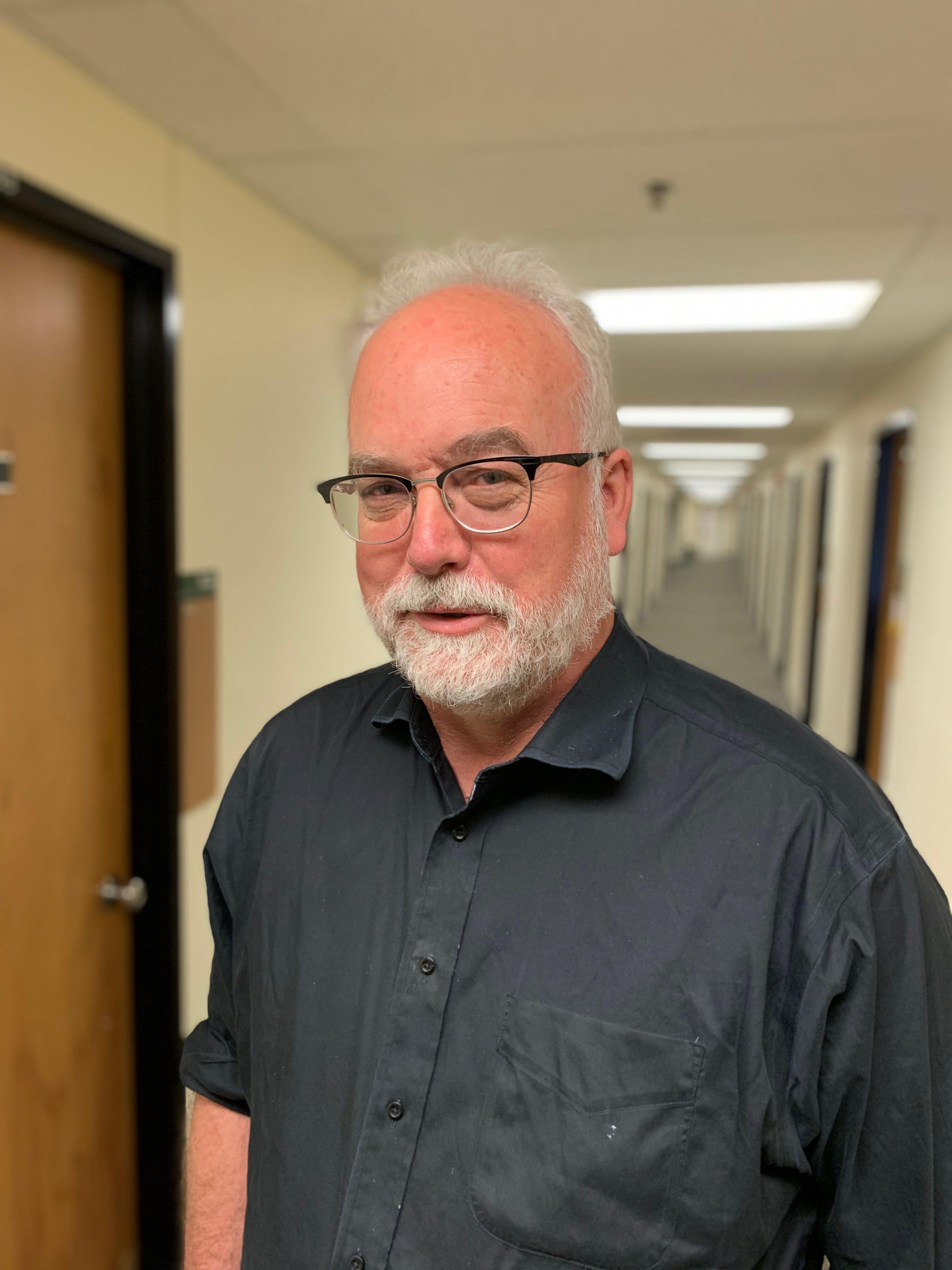 Bill Harbaugh, University of Oregon professor