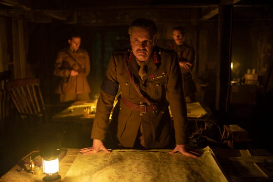 """Colin Firth as General Erinmore in """"1917,"""" the new epic from Oscar®-winning filmmaker Sam Mendes."""