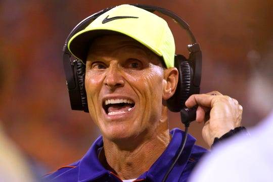 No. 2: Brent Venables, Clemson defensive coordinator: $2,201,500: While LSU's Dave Aranda is making more annually, Venables in April 2019 received a new contract for the second time in as many years that is set to have greater total value – now $11.8 million over five years. The deal includes a scheduled increase to $2.4 million in 2020.