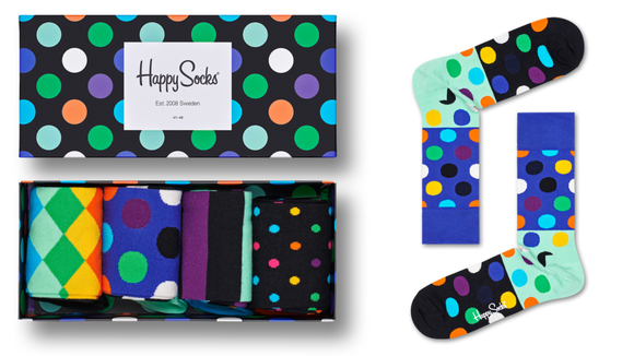 Best gifts for grandpa 2019: Happy Socks