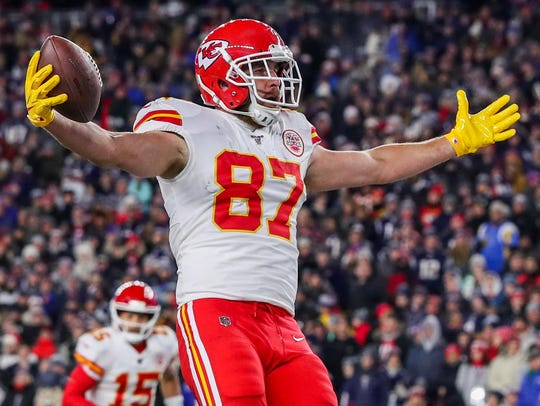 Travis Kelce has been on a record-setting pace for the Kansas City Chiefs. His cousin, Tom Kelce, who is the varsity baseball coach at Holy Trinity Episcopal Academy in Melbourne, will be excited to watch Super Bowl LIV with his family.