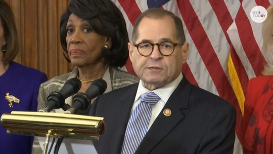 House Democrats unveil two articles of impeachment against President Trump